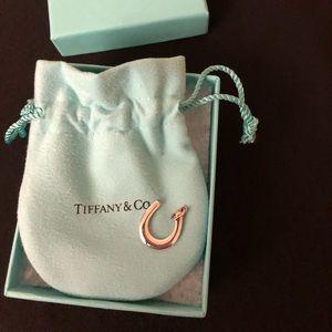 TIFFANY & CO Horseshoe Charm. Silver.